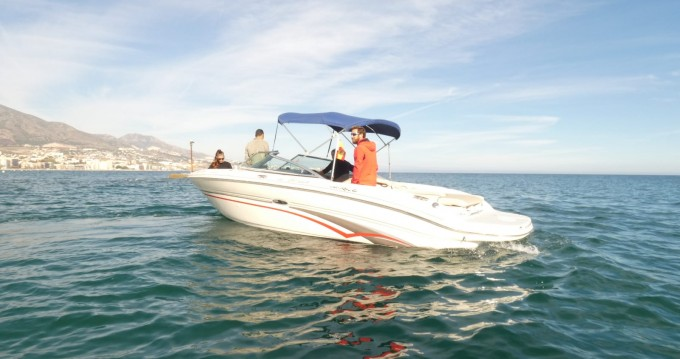 Rental Motorboat in Puerto Deportivo de Marbella - Sea Ray Sea Ray 210 Select