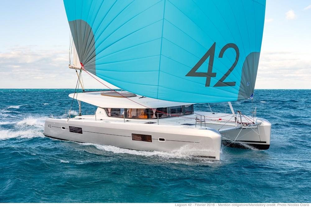 Rental Catamaran in Vólos - Lagoon Lagoon 42
