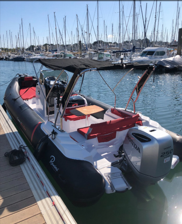 Rental Motorboat in Arzon - Ranieri Cayman 26 Sport Touring