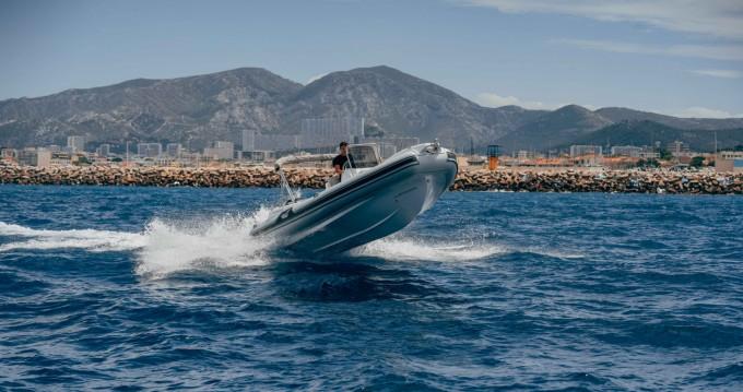 Rental RIB in Pointe-Rouge - MV Marine GT 27