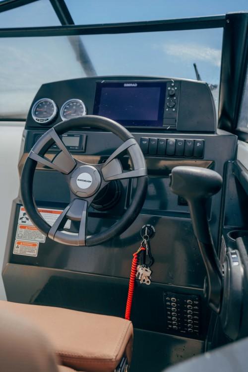Rent a Quicksilver Activ 675 Bowrider Marseille
