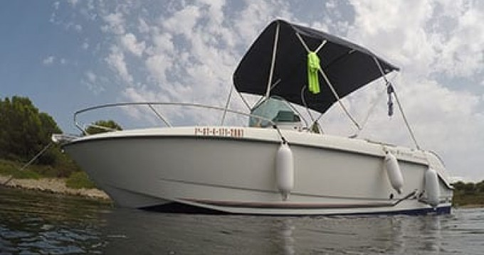 Rental Motorboat Cn-Cap-Ferret with a permit