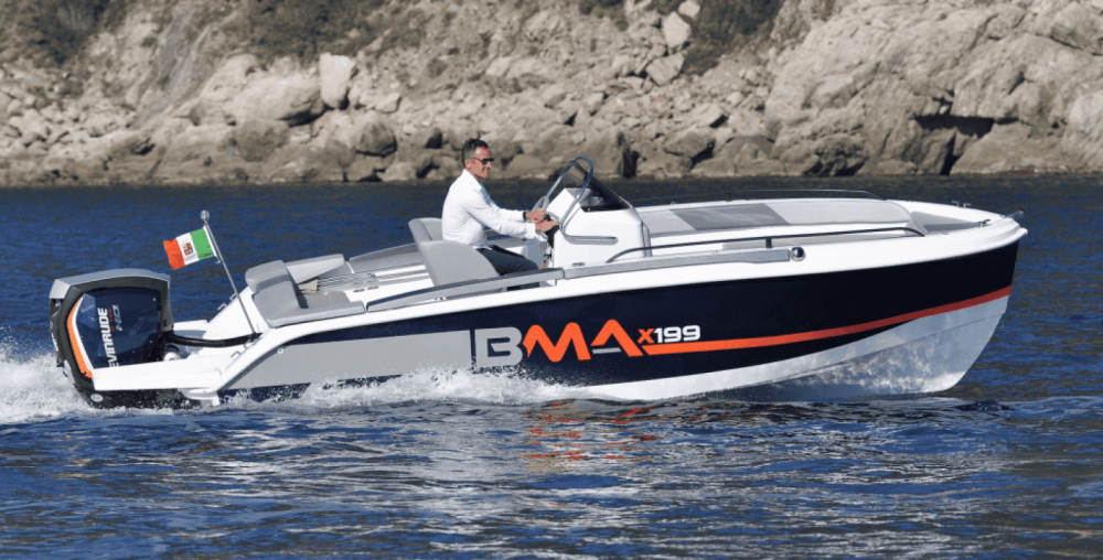 Boat rental Maó cheap BMA X199