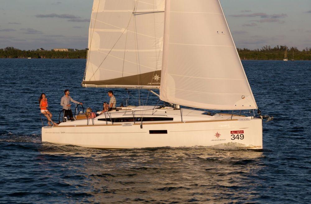 Rental Sailboat in Corfu - Jeanneau Sun Odyssey 349