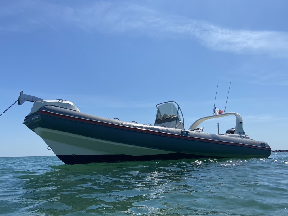 Hire RIB with or without skipper Nuova Jolly Barneville-Carteret