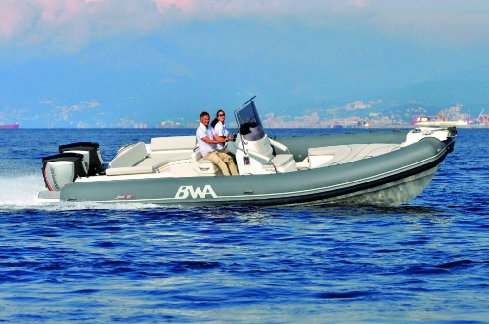 Bwa Sport 28 GT between personal and professional Maó