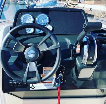 Rental Motorboat in Altea - Quicksilver open 505