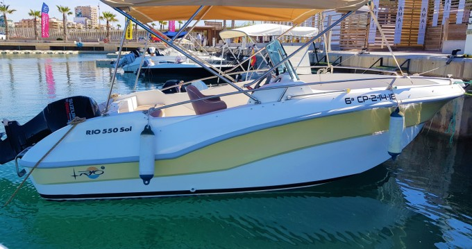Rio Rio 550 SOL between personal and professional Torrevieja