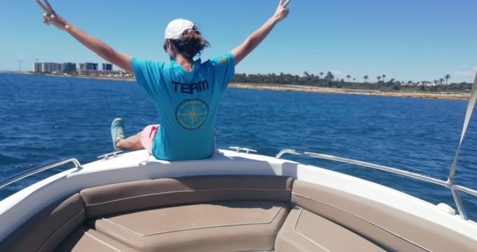 Boat rental Torrevieja cheap Rio 550 SOL