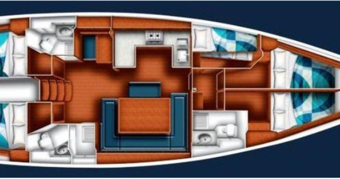 Boat rental Hyères cheap Bavaria 50