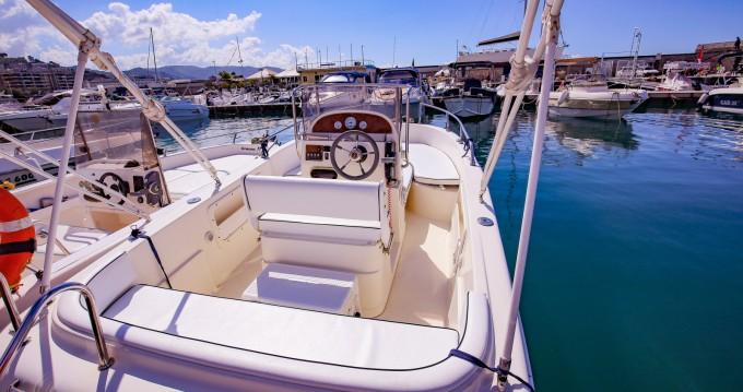 Rental yacht Salerno - tecnofiber almar 190 on SamBoat