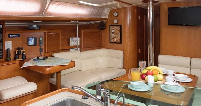 Rental Sailboat in Paros Island - Jeanneau Sun Odyssey 43