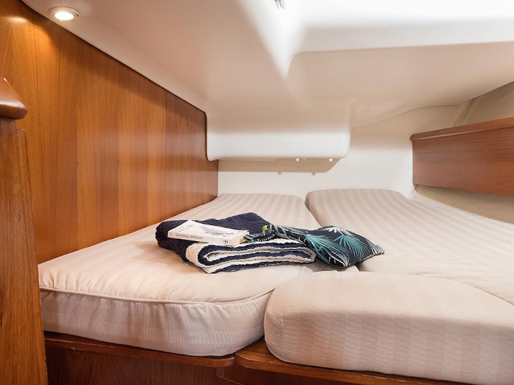 Rental Sailboat in Greece - Jeanneau Sun Odyssey 43