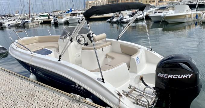 Rental Motorboat Cantiere Del Pardo with a permit