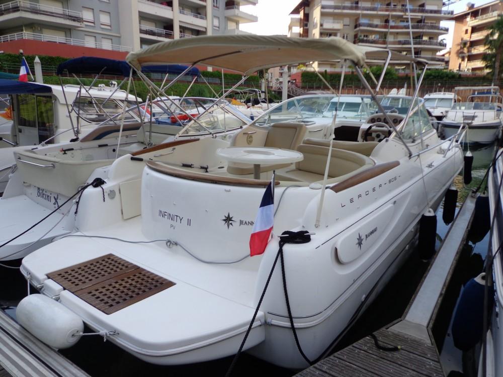 Boat rental Mandelieu-la-Napoule cheap Leader 805