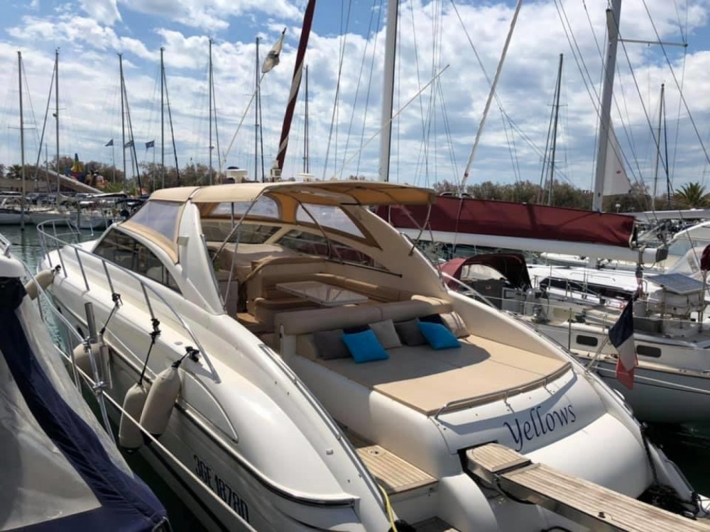 Boat rental La Grande-Motte cheap Princess V55
