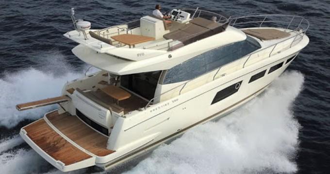 Hire Motorboat with or without skipper Prestige Estepona