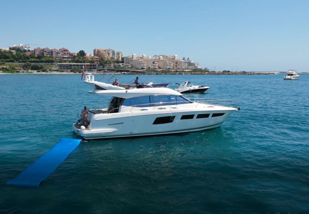 Boat rental Estepona cheap Prestige 500 Fly