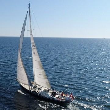 Boat rental Gudhjem cheap Swan 55