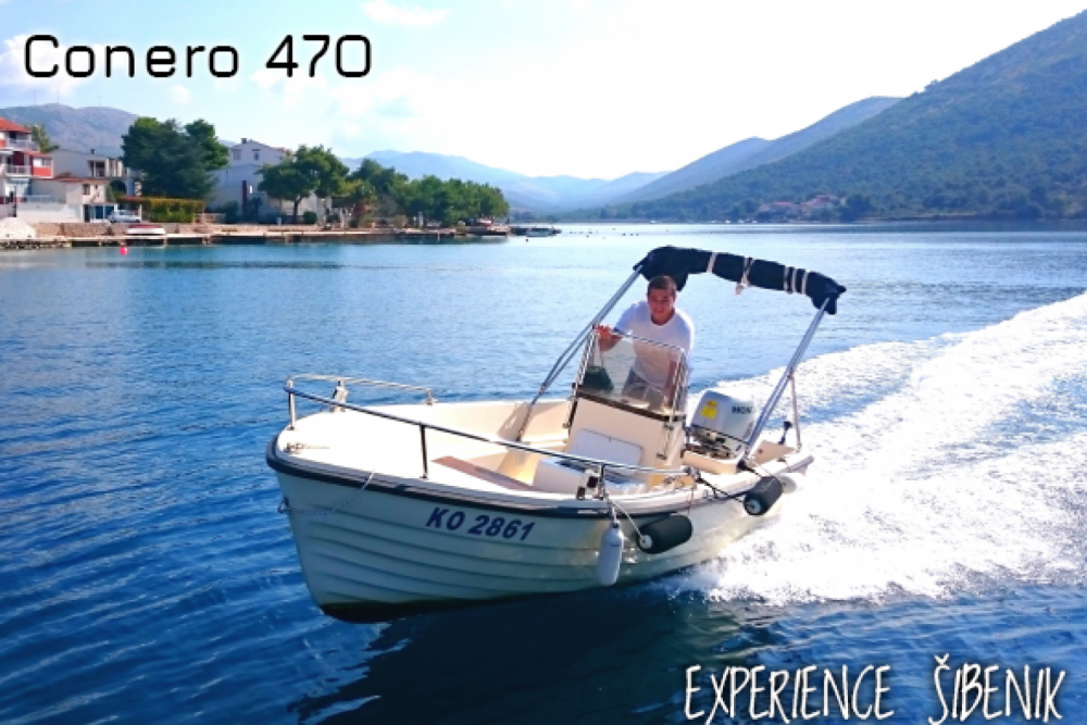 Motorboat for rent Žaborić at the best price
