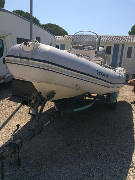 Boat rental Bombard semi rigide in Le Grau-du-Roi on Samboat