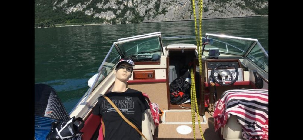 Wellcraft sun hatch 196 between personal and professional Aix-les-Bains