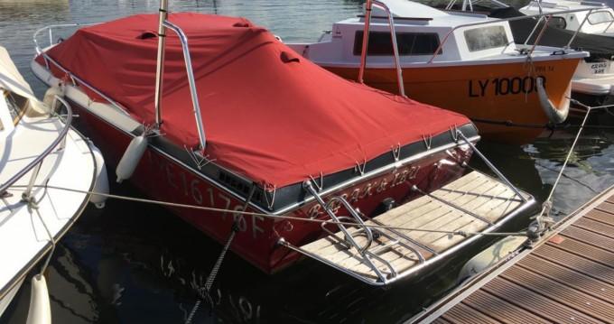 Boat rental Aix-les-Bains cheap sun hatch 196