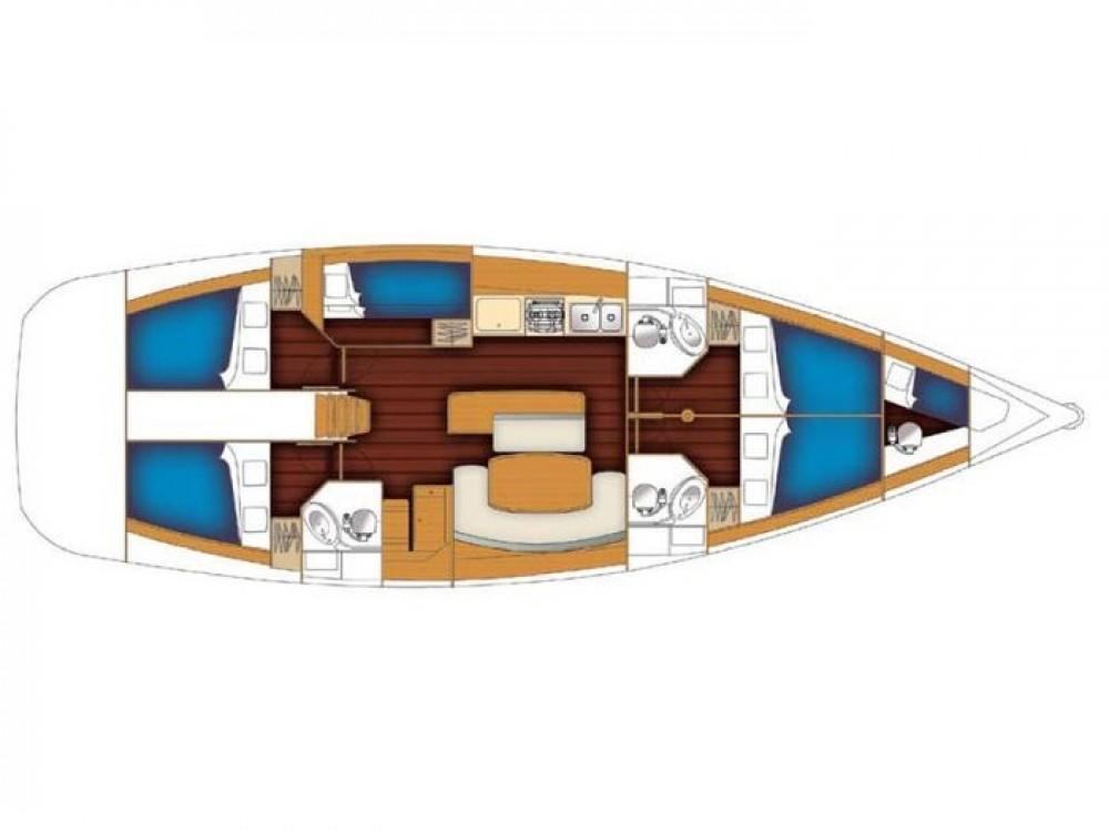 Rental yacht Orhaniye - Bénéteau Cyclades 50.5 on SamBoat