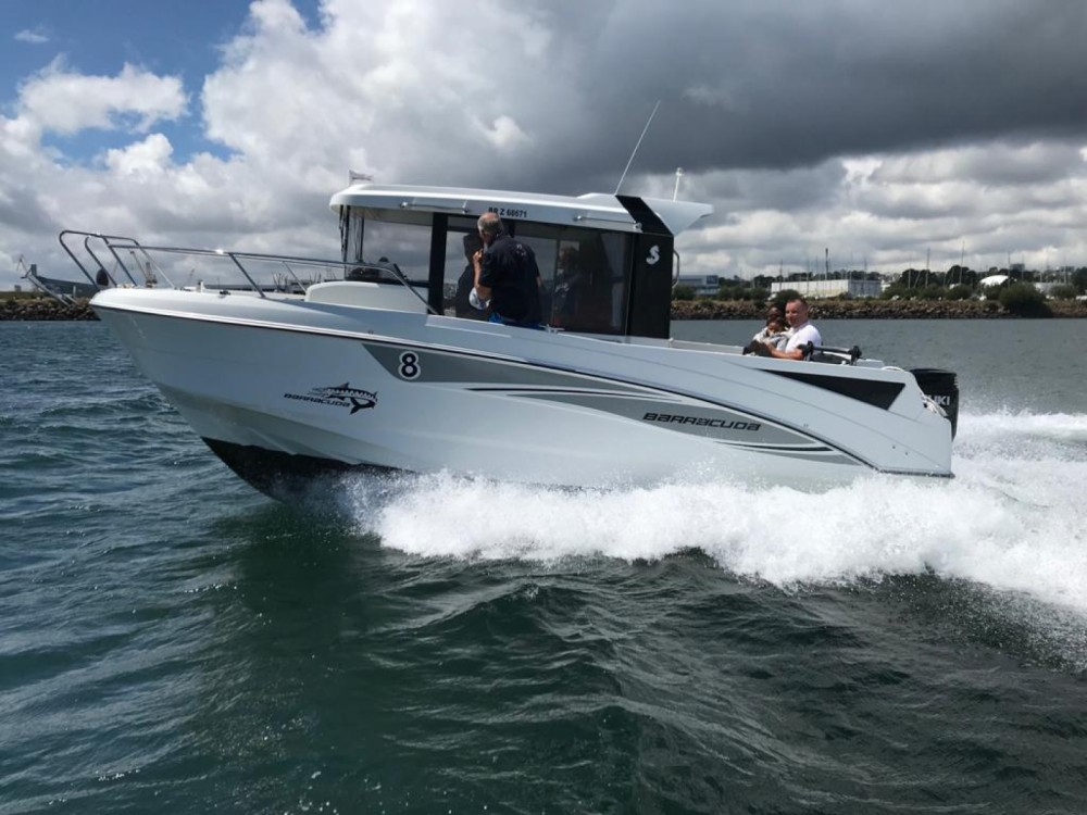 Boat rental Brest cheap Barracuda