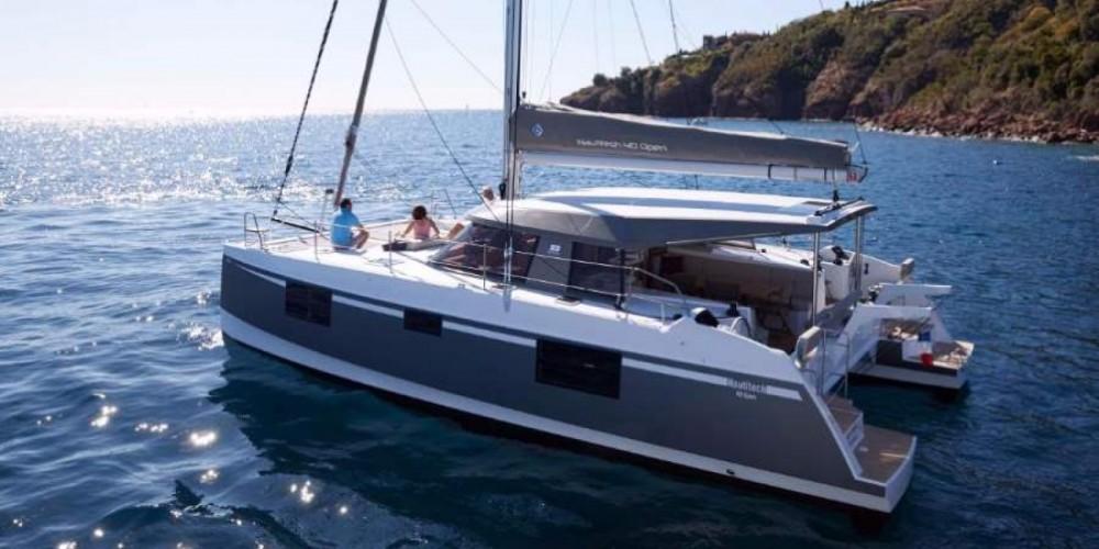 Boat rental Barcelona cheap Nautitech 40