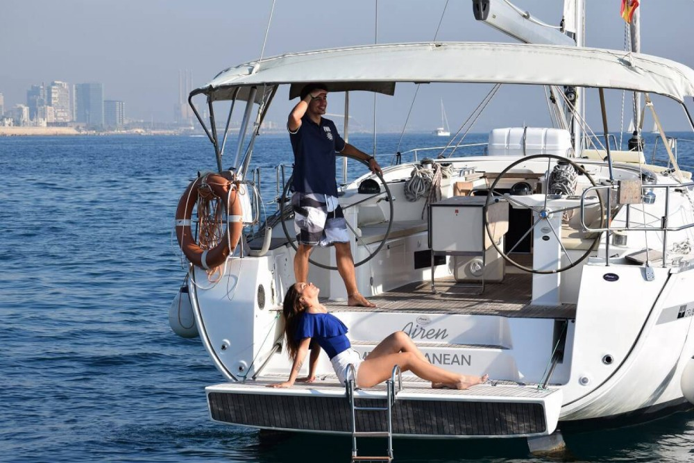 Jeanneau Sun Odyssey 42 between personal and professional Barcelona