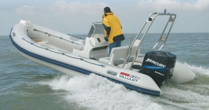 Rental RIB in La Trinité-sur-Mer - Valiant Valiant 620 Vanguard