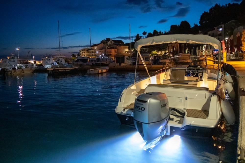 Boat rental Podgora cheap Open 670