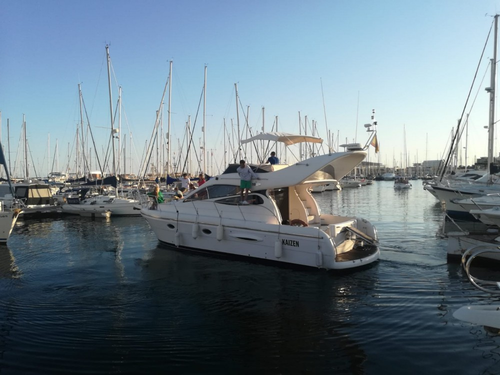 Hire Motorboat with or without skipper Doqueve Alicante