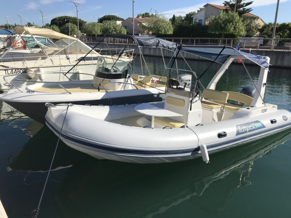 Capelli Tempest 625 between personal and professional Fréjus