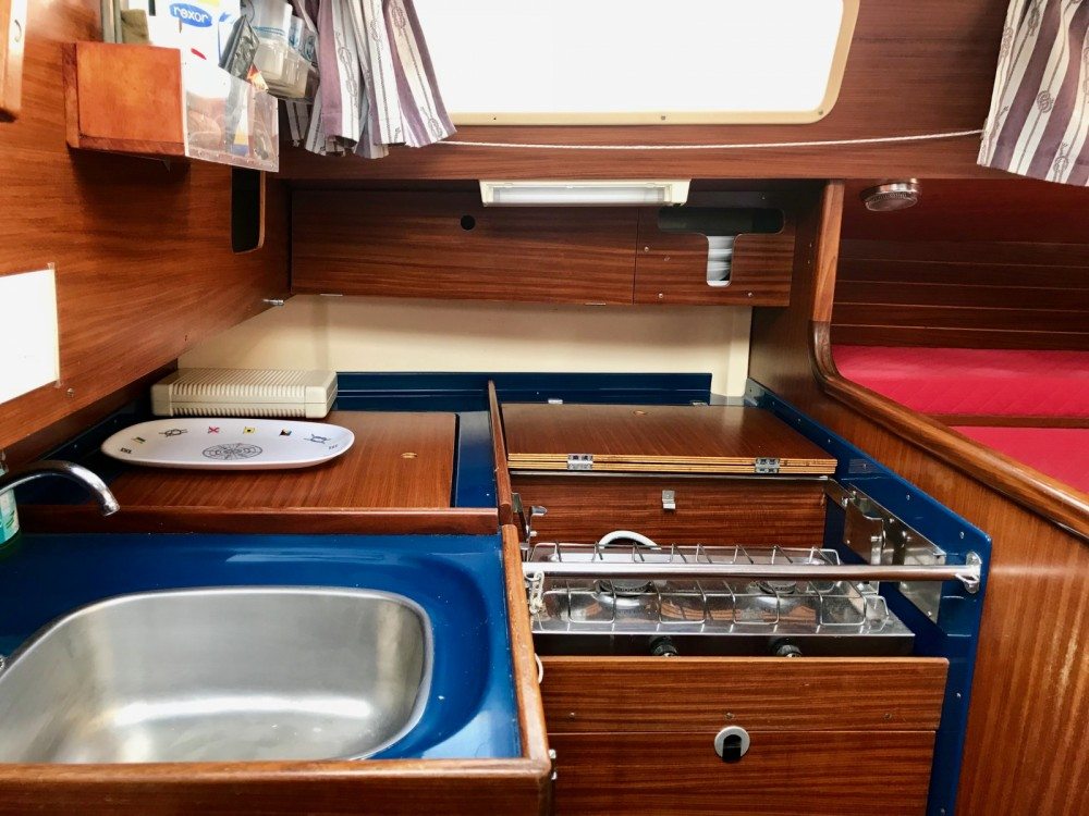 Dufour Sloop 3800 between personal and professional Hyères