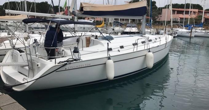 Boat rental Jeanneau cyclades 50 in Messina on Samboat