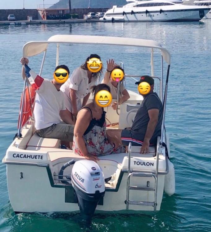 Boat rental Mandelieu-la-Napoule cheap Tiller 48