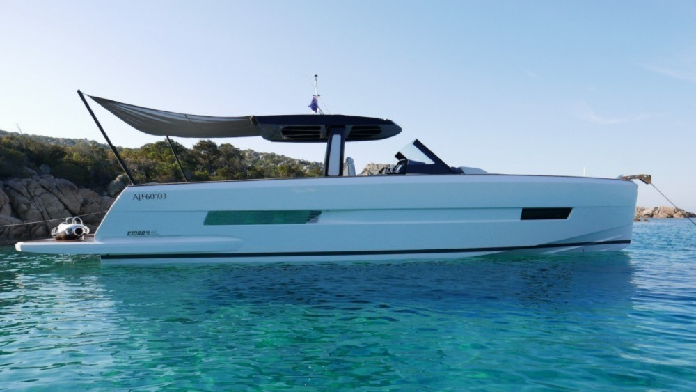 Hire Motorboat with or without skipper Fjord Marseille