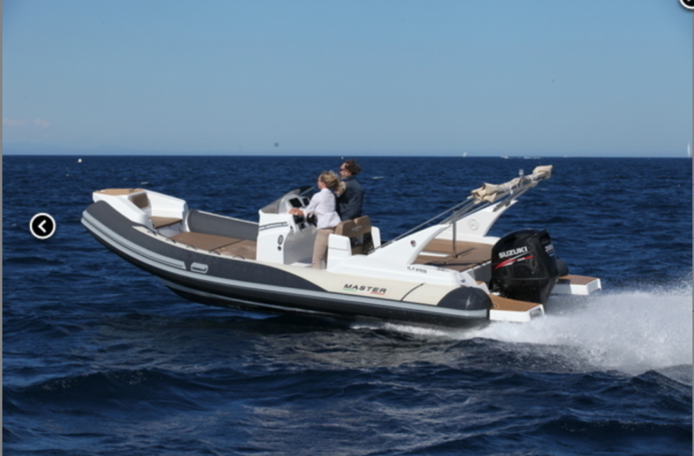 Hire RIB with or without skipper Master Marseille