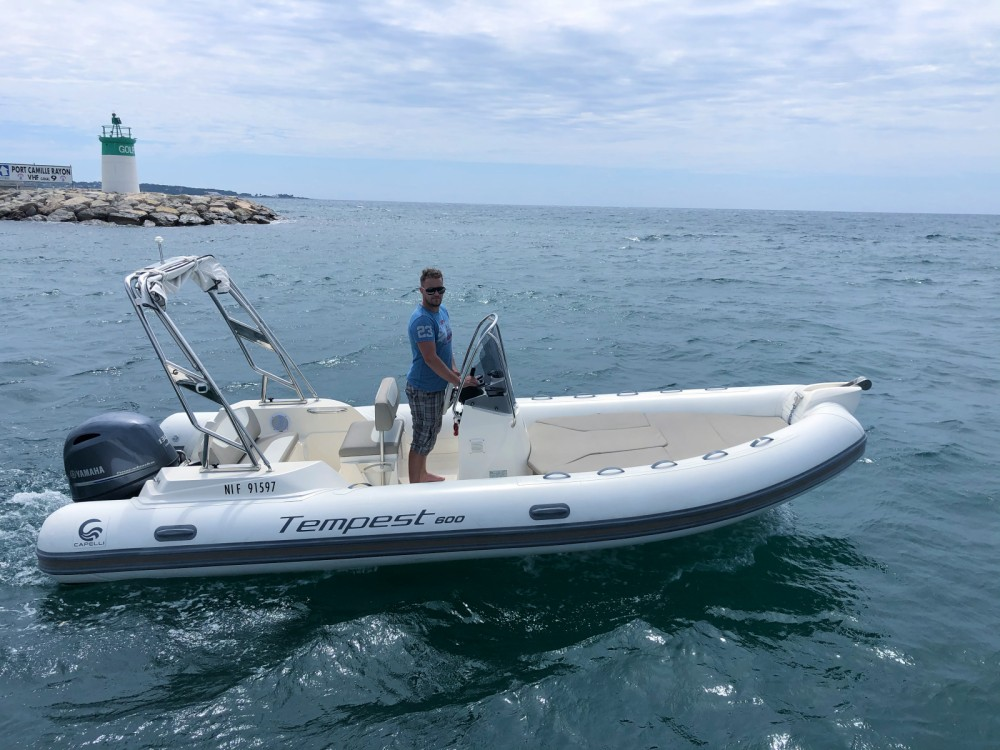 Rent a Capelli Tempest 600 Antibes