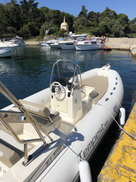 Rental RIB in Antibes - Capelli Tempest 600