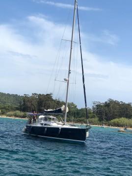 Boat rental Îles de Lérins cheap Elan 434
