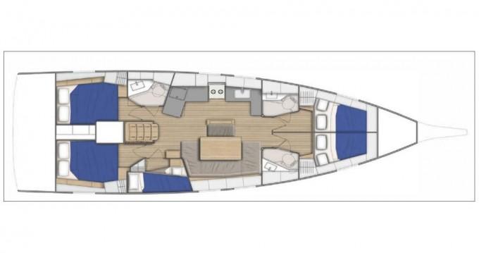 Rental yacht Athens - Bénéteau Oceanis 46.1 on SamBoat