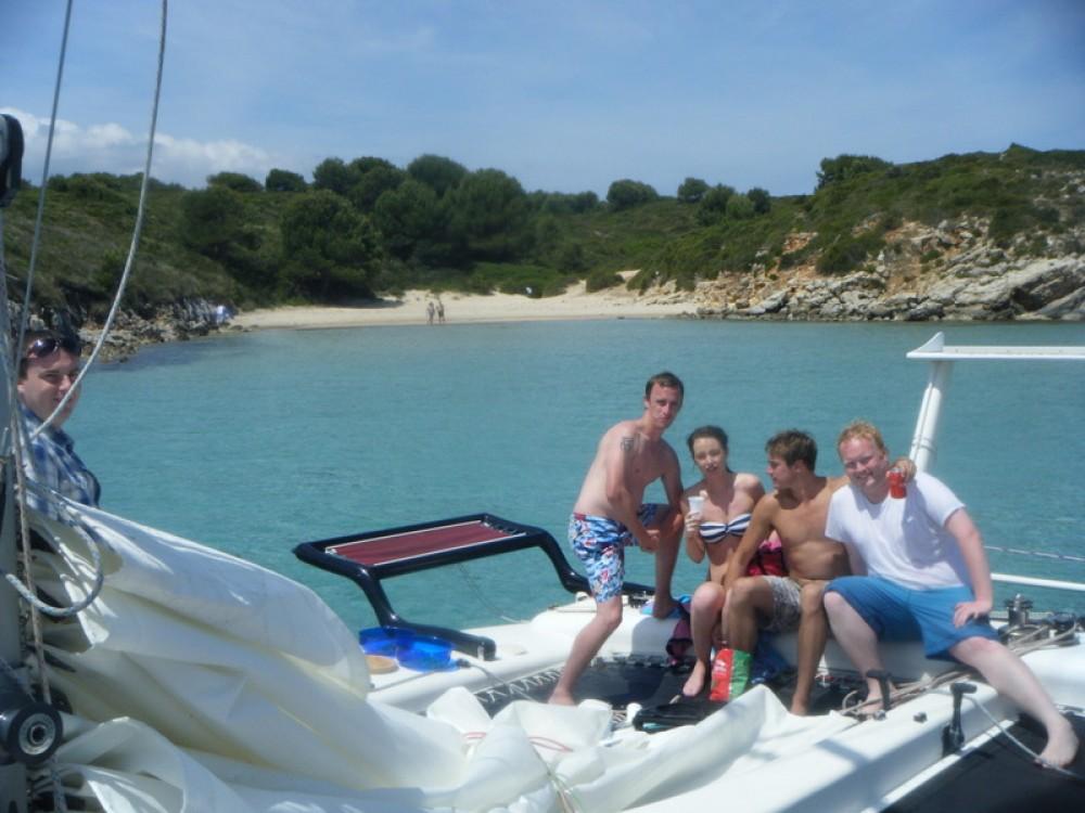 Catamaran for rent es Mercadal at the best price