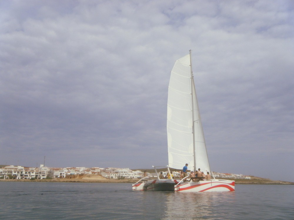 Rental Catamaran in es Mercadal - Kelt Dys,   Rush 10