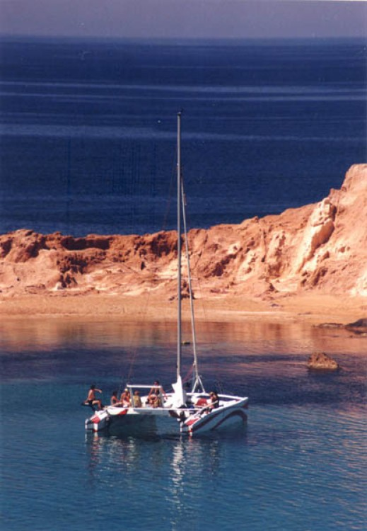 Hire Catamaran with or without skipper Kelt es Mercadal