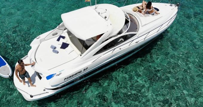 Pershing Pershing 37 between personal and professional Ibiza Town