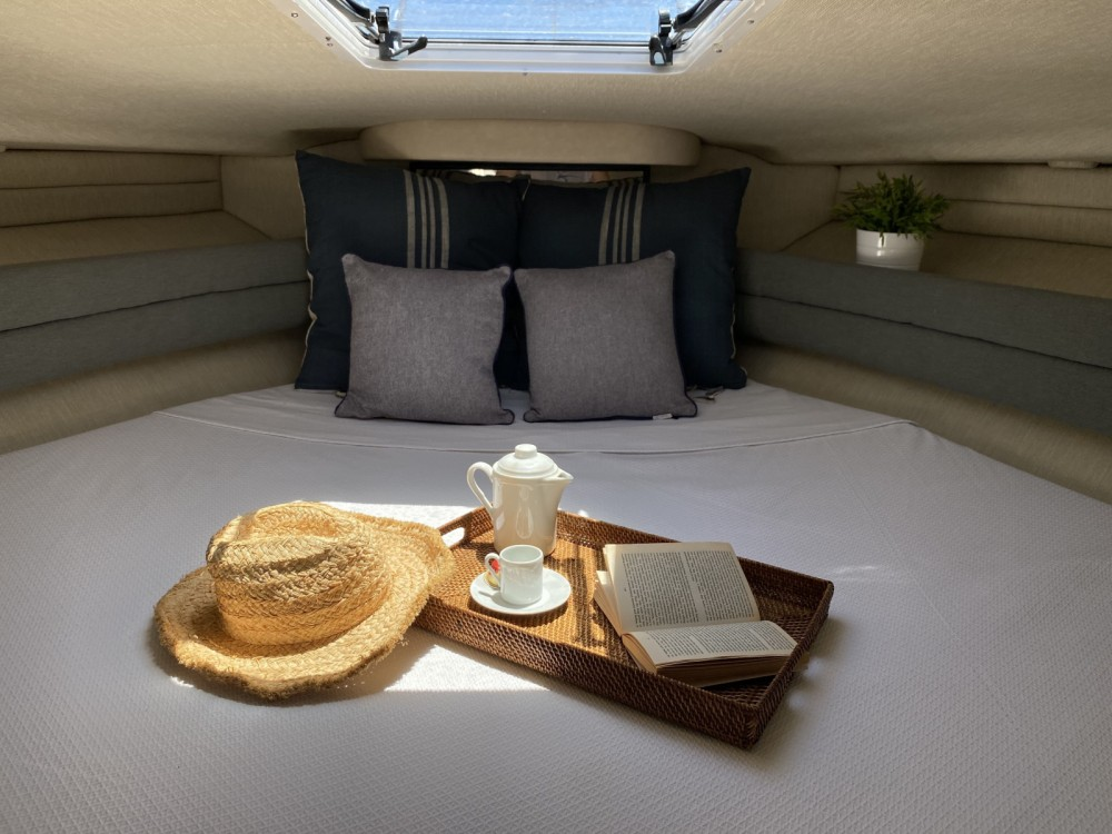 Boat rental Sea Ray 38 Sun Sport in Balearic Islands on Samboat