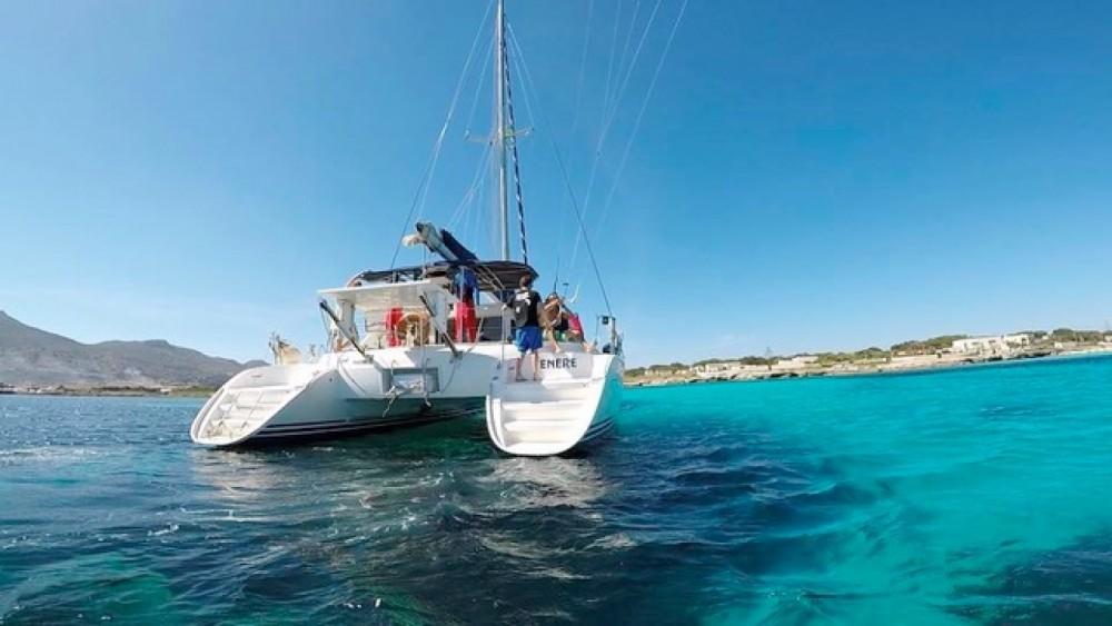 Catamaran for rent Furnari at the best price